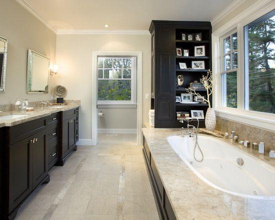 Фото ванных комнат в чатном доме, пол