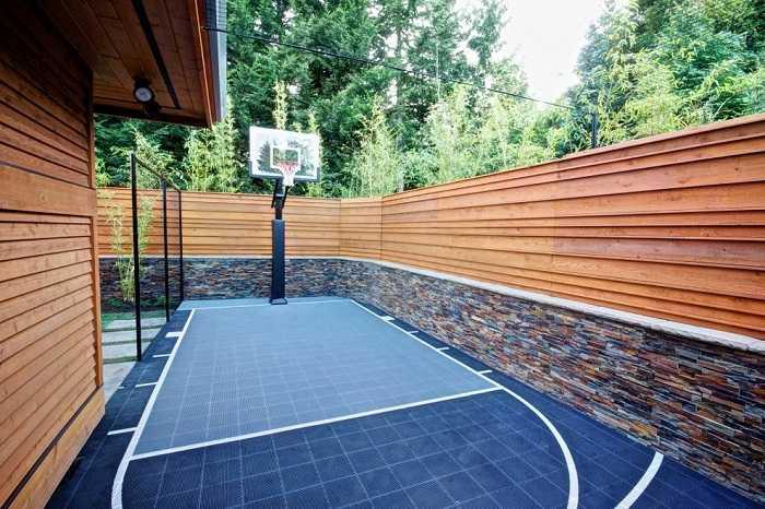 деревянные заборы для частного дома фото