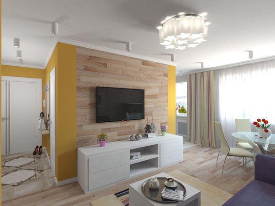 дизайн интерьера двухкомнатной квартиры, фото 2