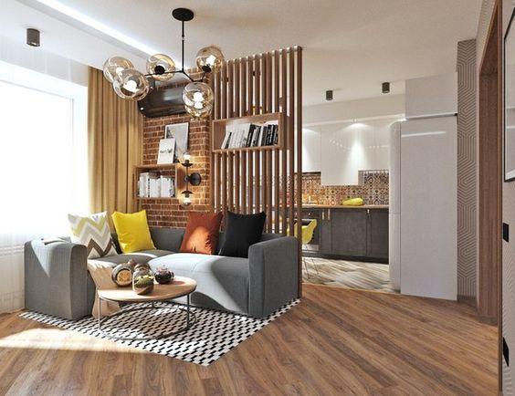 дизайн интерьера двухкомнатной квартиры, фото 12