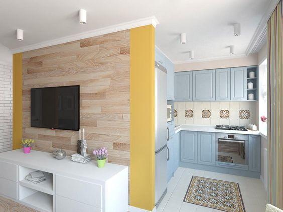 дизайн интерьера двухкомнатной квартиры, фото 3