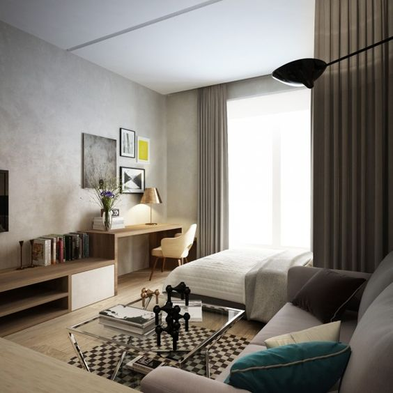 дизайн интерьера двухкомнатной квартиры, фото 7