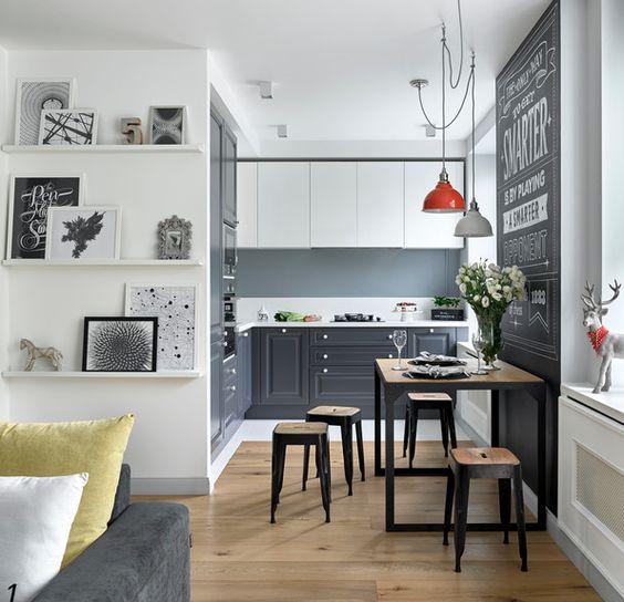 дизайн интерьера двухкомнатной квартиры, фото 8