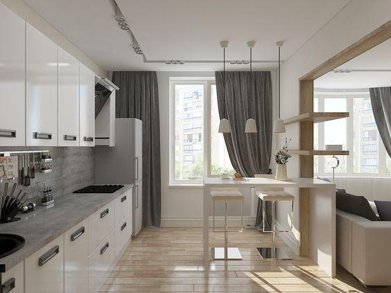 планировка двухкомнатной квартиры, фото 5