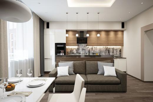 планировка двухкомнатной квартиры, фото 6