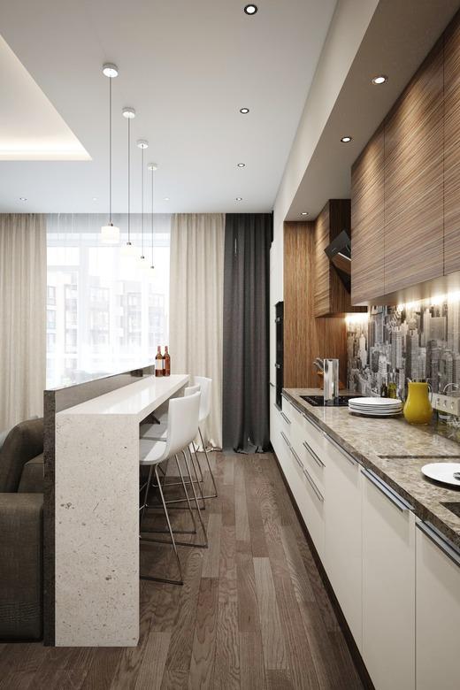 планировка двухкомнатной квартиры, фото 7