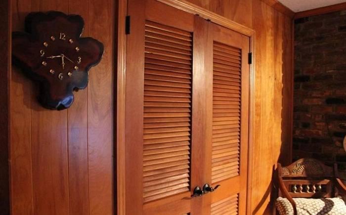 Двери для гардеробной: 30 фото и описание современных конструкций