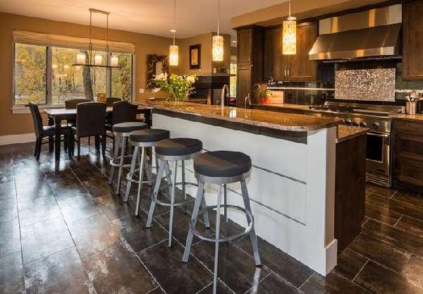 кафельная плитка для кухни на пол