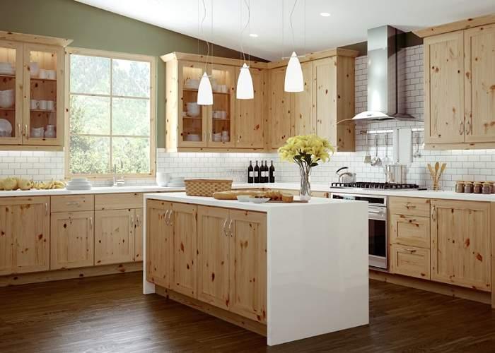 кухня для дачи своими руками из дерева, фото 8