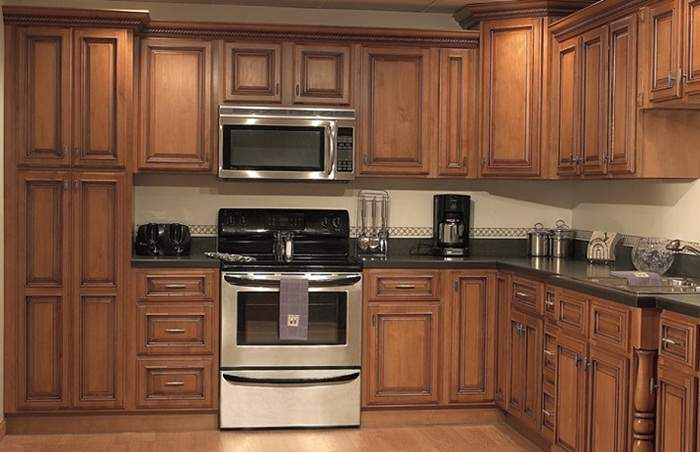 кухня из натурального дерева своими руками, фото 9
