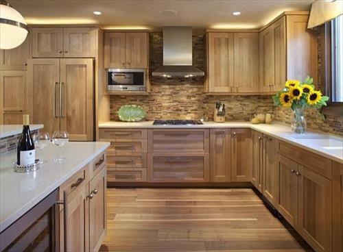 кухня из дерева своими руками в современном стиле, фото 4