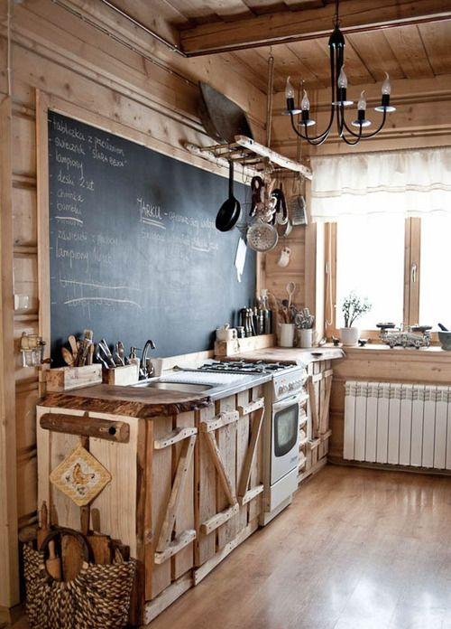 сделать кухню своими руками из дерева, фото 14