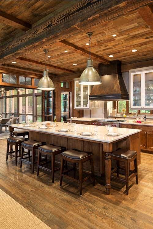 Летняя кухня из дерева внутренняя отделка