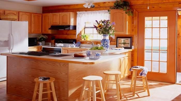 кухня из дерева своими руками в современном стиле, фото 3