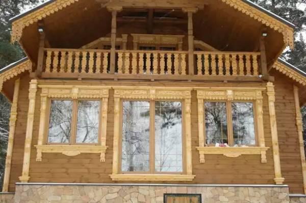 наличники на окна в деревянном доме
