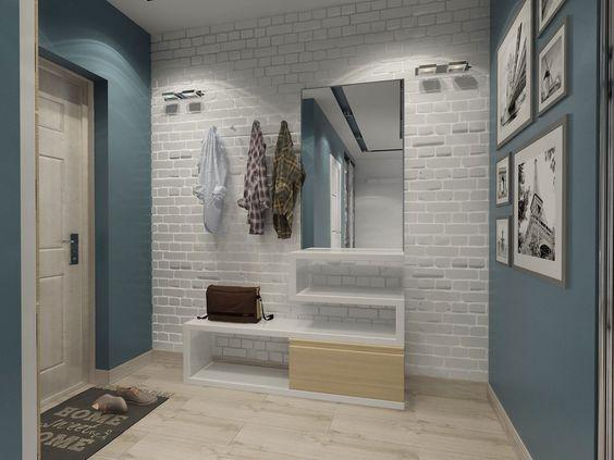 дизайн типовой двухкомнатной квартиры, фото 7