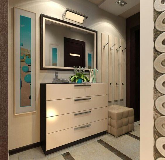 планировка двухкомнатной квартиры дизайн