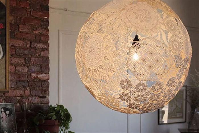 настольная лампа своими руками из подручных материалов
