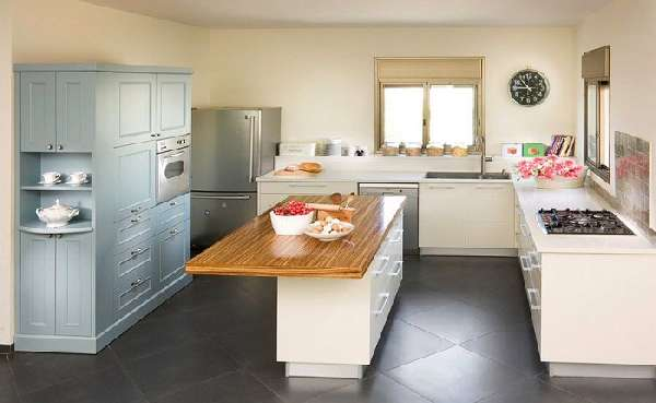 Дизайн плитки для кухни на пол фото