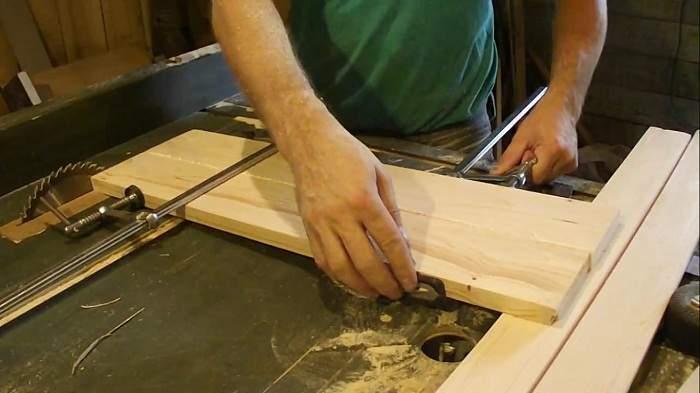 сделать кухню своими руками из дерева, фото 13