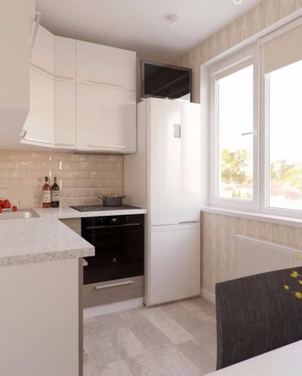 дизайн маленькой кухни, фото 1