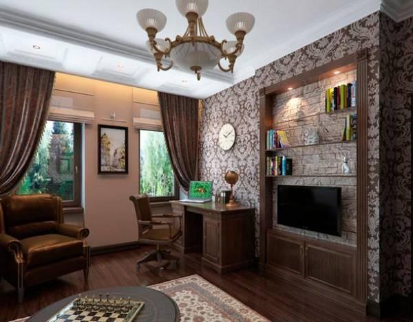 дизайн кабинета в квартире, фото 1