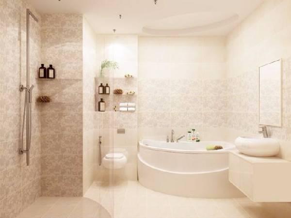 дизайн маленькой ванной комнаты совмещенной с туалетом, фото 24