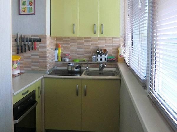 балкон с кухней совмещенный фото, фото 18