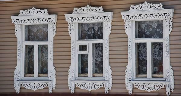 Наличники на окна в деревянном доме фото, фото 13