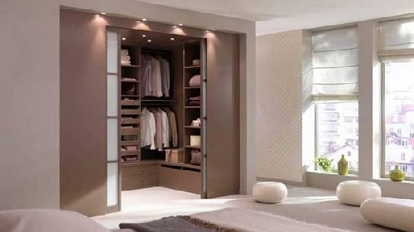 Планировка гардеробной с размерами, фото 30