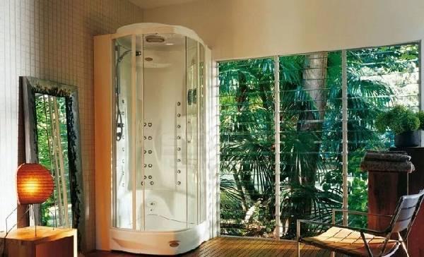 раздвижные стеклянные двери для душа на заказ, фото 8