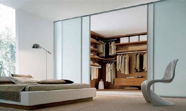 Спальня с гардеробной планировка, фото 16