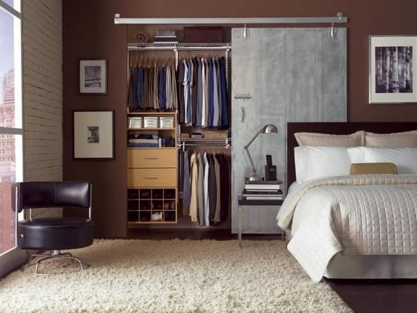 раздвижные зеркальные двери для гардеробной, фото 11