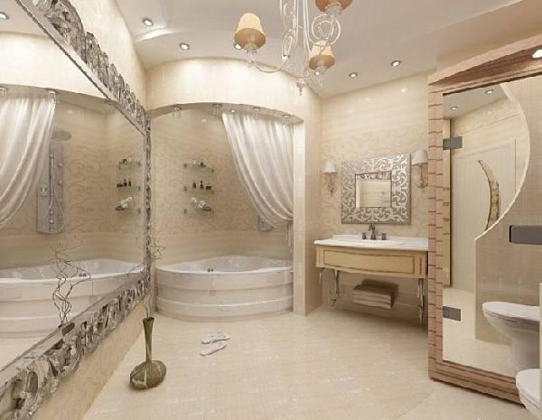 дизайн ванной комнаты с туалетом фото, фото 7