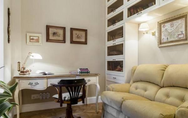 дизайн кабинета в квартире, фото 12