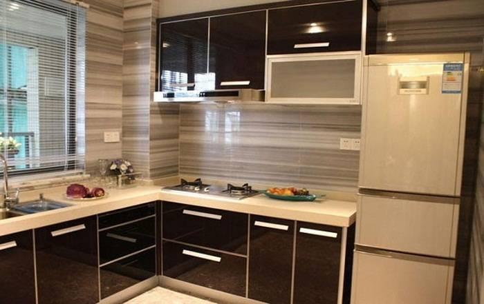 отделка стен на кухне пластиковыми панелями, фото 13