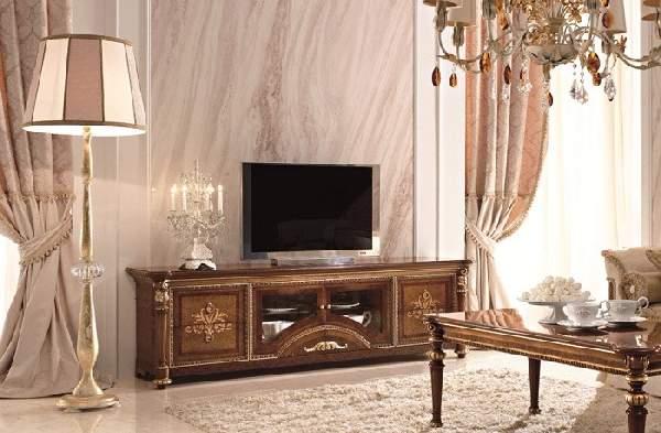 тумба под телевизор в классическом стиле, фото 26