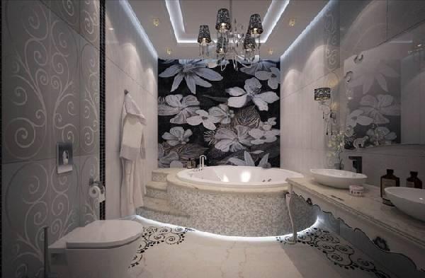 дизайн ванных комнат, совмещенных с туалетом фото, фото 10
