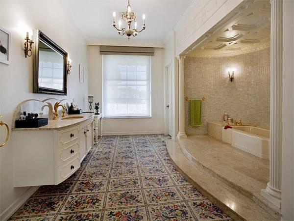 мебель для ванной комнаты в классическом стиле, фото 14