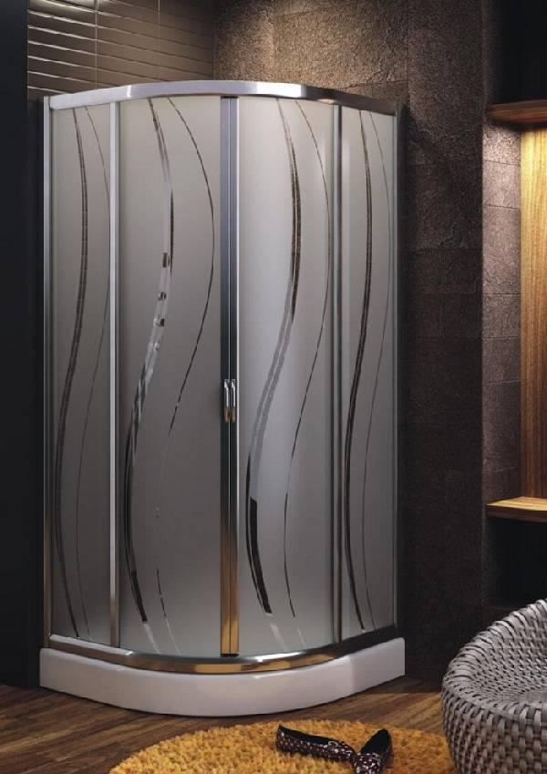 раздвижные стеклянные двери для душа, фото 23
