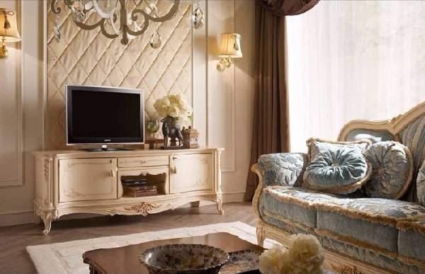 тумба под телевизор в классическом стиле, фото 27