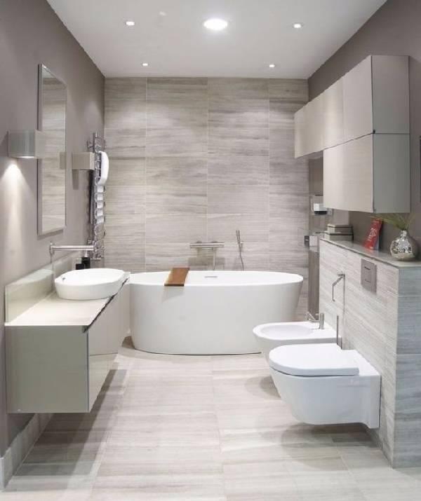 дизайн ванной совмещенной с туалетом, фото 11