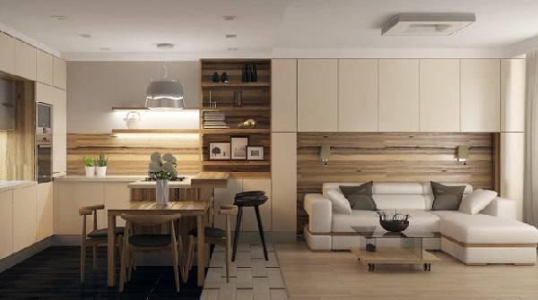 Мягкий диван на кухню со спальным местом, фото 3