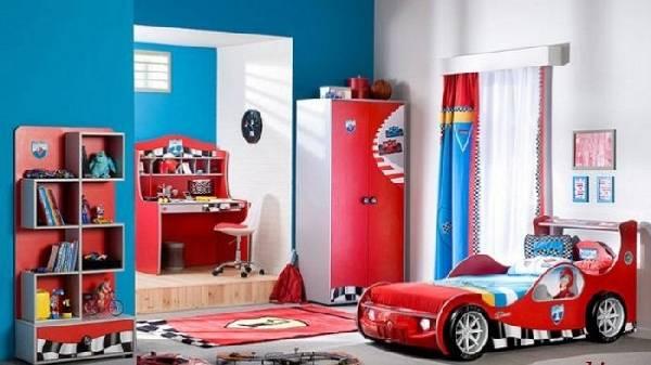корпусная мебель для детской комнаты для мальчика, фото 8