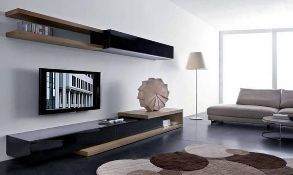 современные модульные стенки в гостиную, фото 16