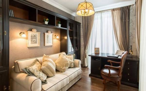 дизайн кабинета в квартире в современном стиле, фото 17