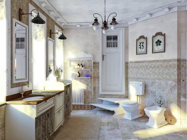 тумба в ванную в классическом стиле, фото 16