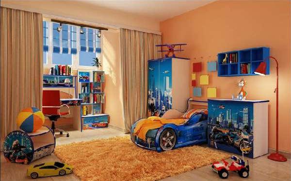 мебель в детскую комнату для мальчика машинки, фото 9