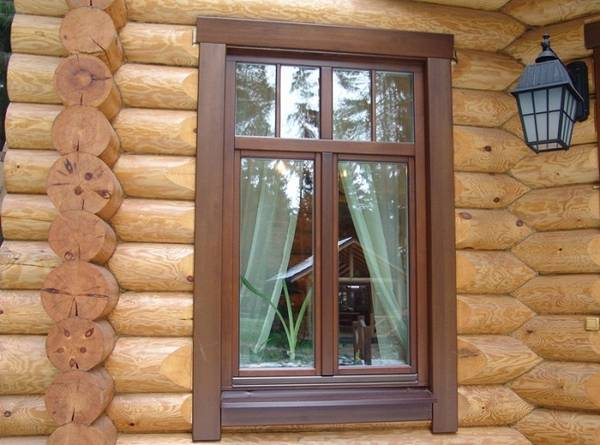 Варианты наличников на окна в деревянном доме, фото 11