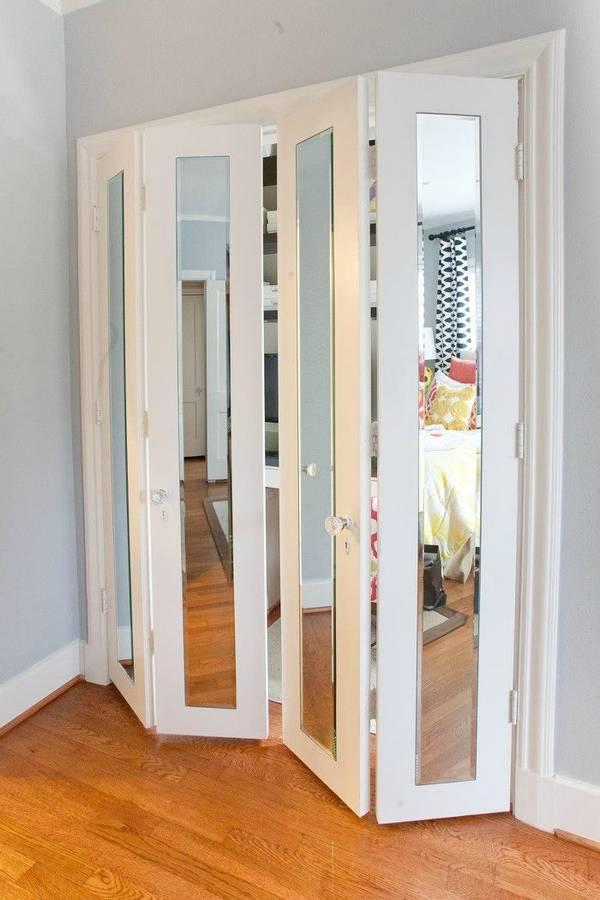 двери в гардеробную раздвижные, фото 17